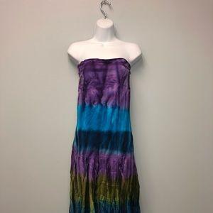 Tie Die Maxi Dress